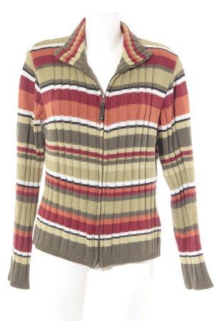 Cecil Giacca di lana motivo a righe stile casual