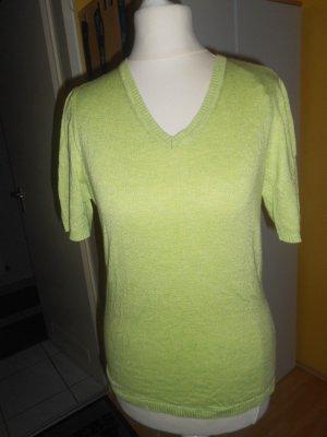 Cecilia Classics Short Sleeve Sweater green mixture fibre