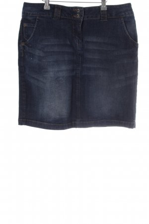 Cecilia Classics Denim Skirt blue simple style