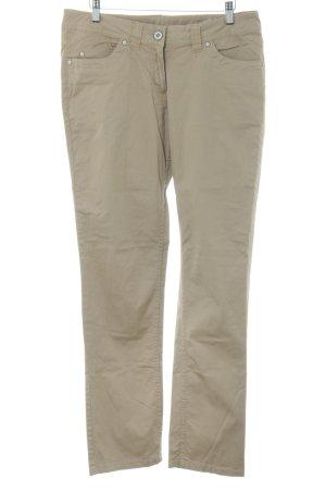 Cecilia Classics Drainpipe Trousers brown casual look