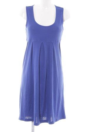 Cecilia Classics Stretchkleid blau Casual-Look