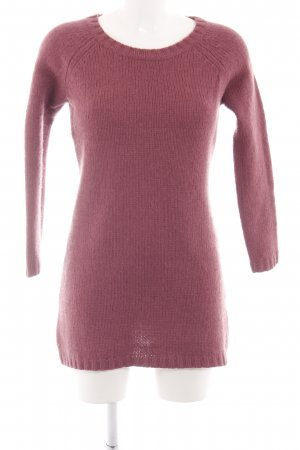 Cecilia Classics Knitted Sweater pink cable stitch casual look