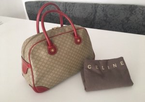Celine Carry Bag camel-dark red