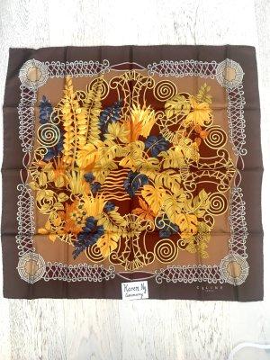 Celine Zijden sjaal bruin