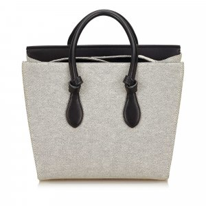 Celine Canvas Tie Handbag