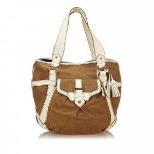Celine Borsa larga marrone