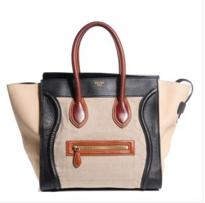 Céline celine Paris Tasche tricolor luggage shopper