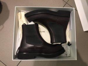 Celine Chelsea Boots in Bordeaux 37 NEU