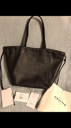 Celine Coulisse Bag Black/Burgundy Small