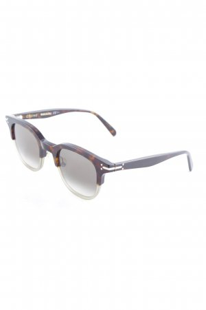 Celine Angular Shaped Sunglasses tortoise pattern business style