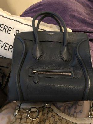Celine Edel Jeansblau Handtasche Rechnung