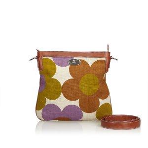 Celine Floral Canvas Crossbody Bag