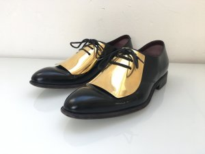 Céline gold plate oxfords 39
