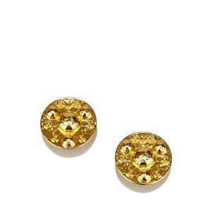 Celine Gold-Tone Clip-On Earrings