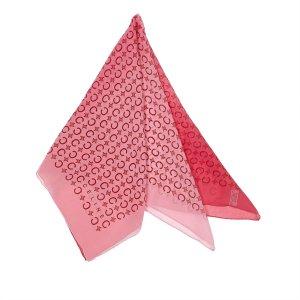 Celine Écharpe rosé soie