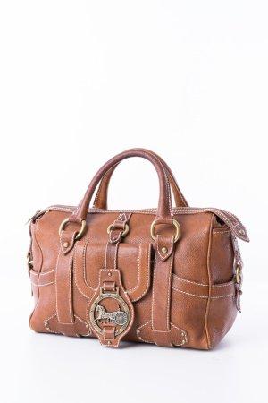 CÈLINE - Handtasche Verdine Cognac Leder