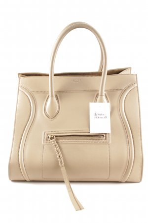 "Celine Borsa con manico ""Phantom Luggage Bag"" beige"