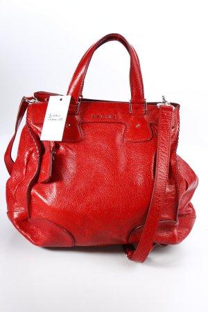 Celine Carry Bag red wet-look
