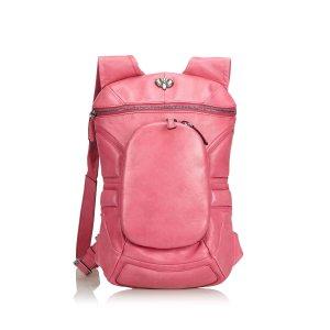 Celine Leather Backpack