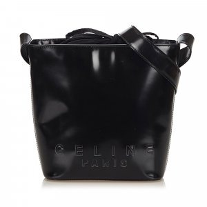 Celine Leather Bucket Bag