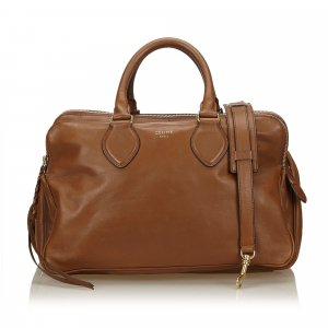 Celine Leather Triptyque
