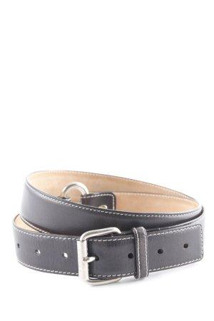 Celine Cintura di pelle nero stile casual