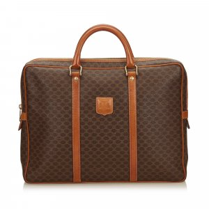 Celine Bolso business marrón clorofibras