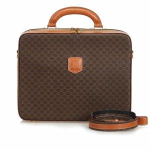 Celine Business Bag brown polyvinyl chloride