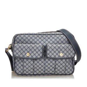 Celine Macadam Canvas Crossbody Bag