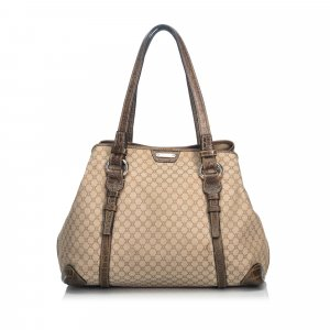 Celine Macadam Canvas Tote Bag