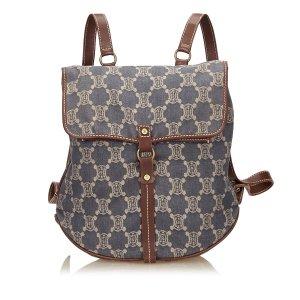 Celine Macadam Denim Backpack