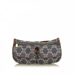 Celine Macadam Denim Belt Bag