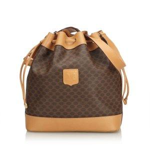 Celine Macadam Drawstring Bucket Bag