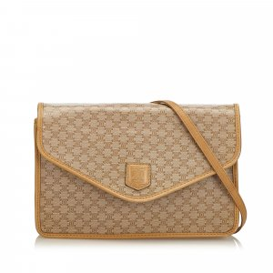 Celine Macadam Envelope Shoulder Bag