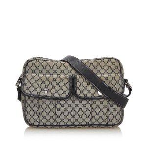 Celine Macadam Jacquard Shoulder Bag