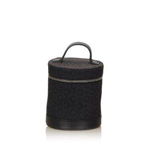 Celine Macadam Jacquard Vanity Bag