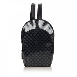 Celine Macadam Patent Leather Backpack
