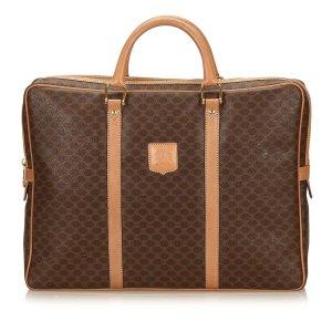 Celine Macadam PVC Briefcase