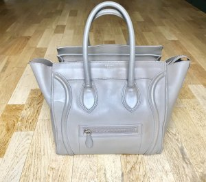 Celine Mini Luggage Taupe Beige