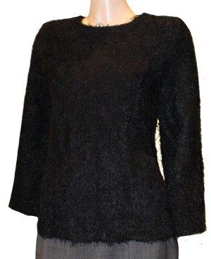 CELINE Mink Hair PULLI schwarz dick kuschelig warm Gr. 36