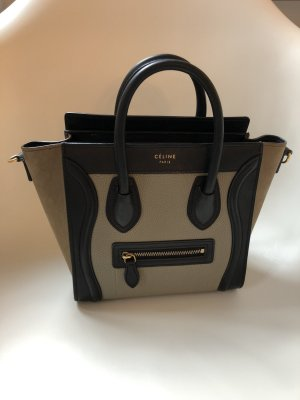 Céline Nano Luggage Bag Tricolor