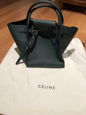 Celine Orginal Leder Tasche neu grün
