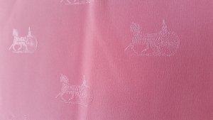 CELINE Paris Schal Tuch Seide silk soie Luxus foulard Vintage KUTSCHEN rosé