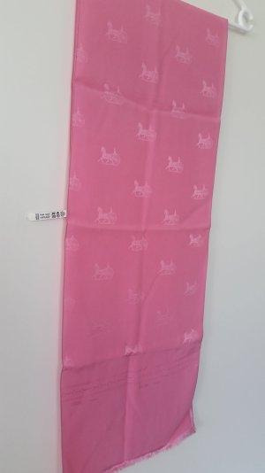 Celine Sciarpa di seta rosa Seta