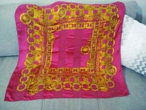 Celine Paris Seidentuch in pink ca. 83x83 cm