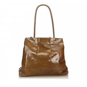 Celine Patent Leather Tote Bag