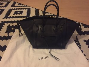 Celine Phantom Luggage Black Gr M