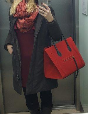 CELINE Phantom luggage in rot mit Rechnung