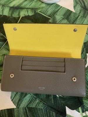 Celine Portemonnaie taupe/gelb