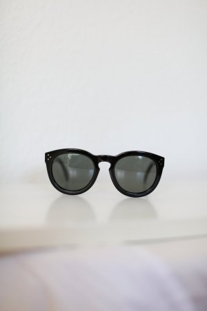 Celine Round Sunglasses black